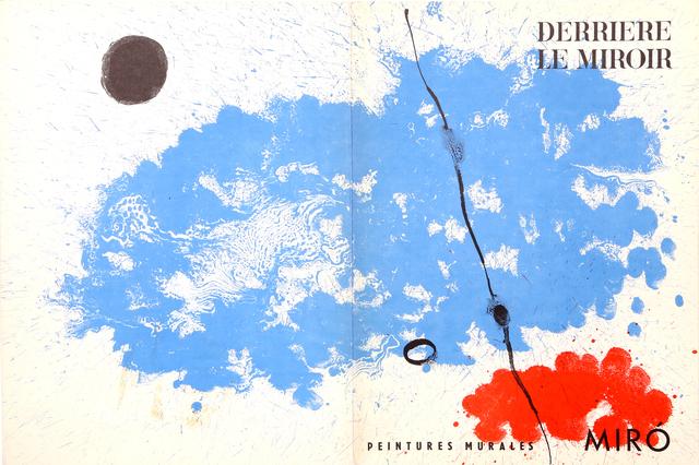 Joan Miró, 'Peinture Murales, Cover of Derrière le Miroir ', 1961, RoGallery