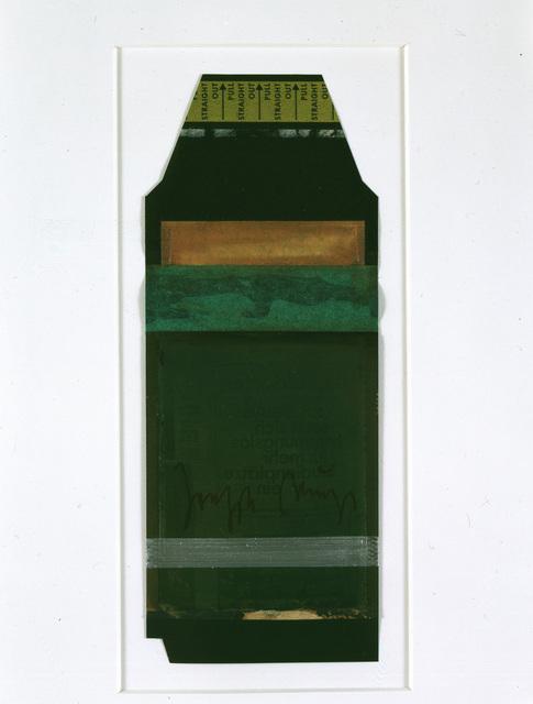 , 'unbetitelt (Polaroid),' 1972, Galerie Klüser