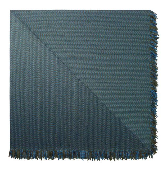 , 'Blue Offset,' 2018, Massey Klein Gallery