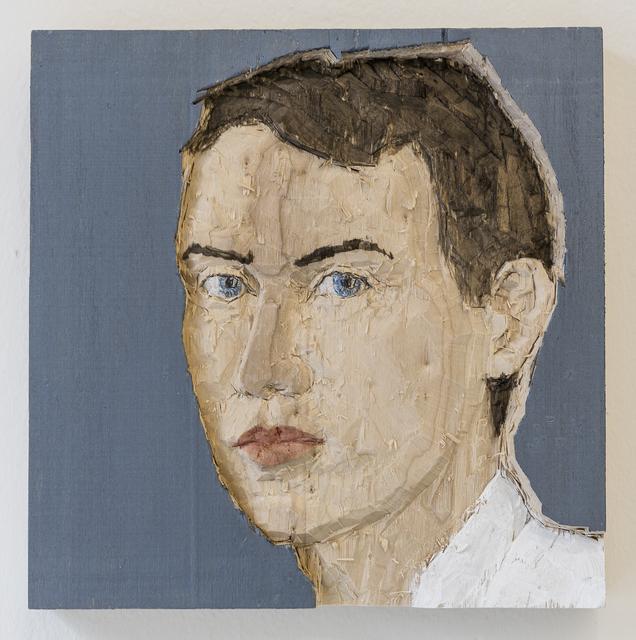 Stephan Balkenhol, 'Man (relief)', 2016, Mai 36 Galerie