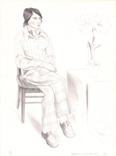 David Hockney, 'Yves Marie', 1974, ArtWise