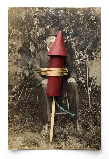 , 'Rocketeers 3 (large rocket),' 1992, Laurence Miller Gallery