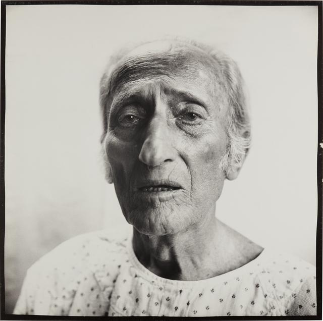 Richard Avedon, 'Jacob Israel Avedon, Father of Photographer, Sarasota 12.19.72', 1972, Phillips