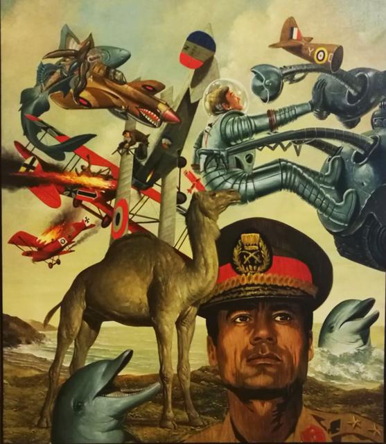 , 'Soft Kadhafi,' 1974, Galerie du Griffon