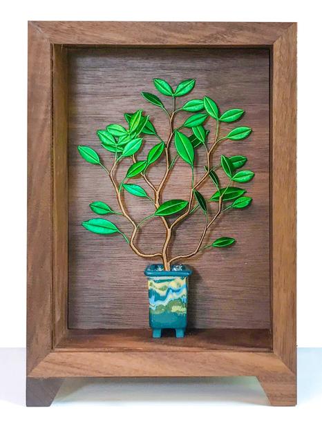 , 'Pure Enjoyment in a Planter – 9,' 2018, Yiri Arts