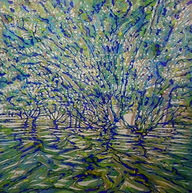 Andrew Tomkins, 'Green Cut III ', 2019, Art Atrium