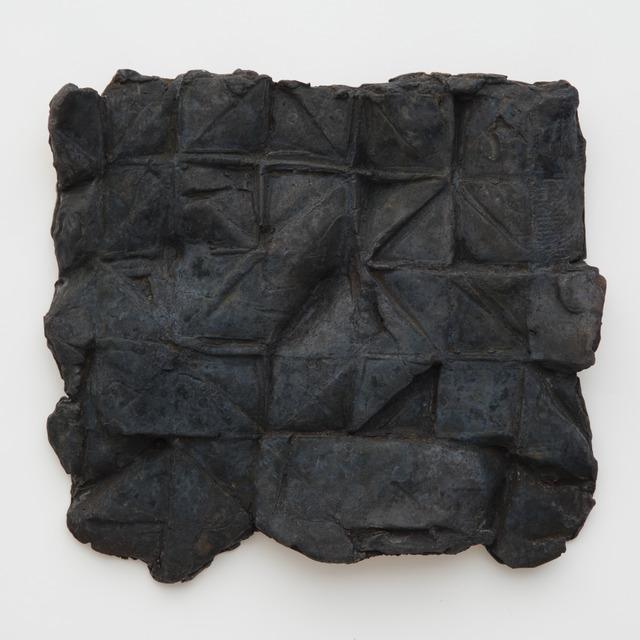 , 'DYMAXION LOVE LETTER (BLUE),' 2018, Tayloe Piggott Gallery