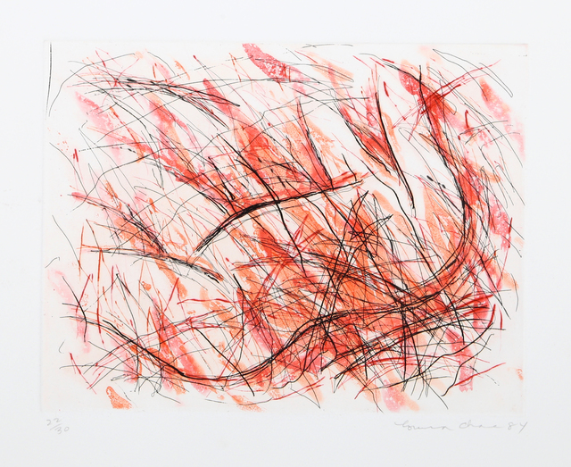 Louisa Chase, 'St. Joan Variant II (Fire)', 1984, RoGallery