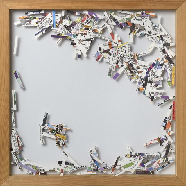 , 'W la libertà(Bandes Dessinées),' 1982, Galerie Natalie Seroussi