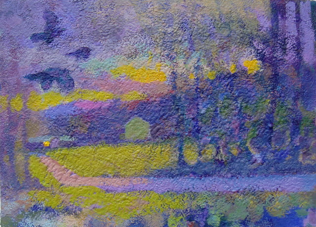 Don Wynn, 'The Crows', 2020, Painting, Acrylic, Keene Arts