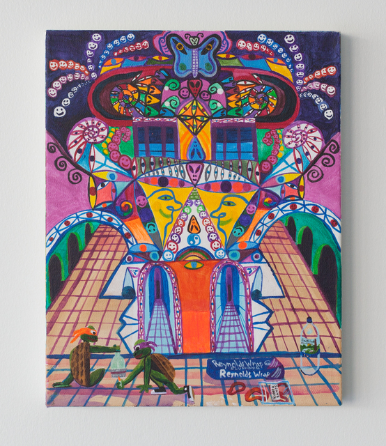 Joe Roberts, 'We went inside the god head', 2017, Painting, REYES   FINN