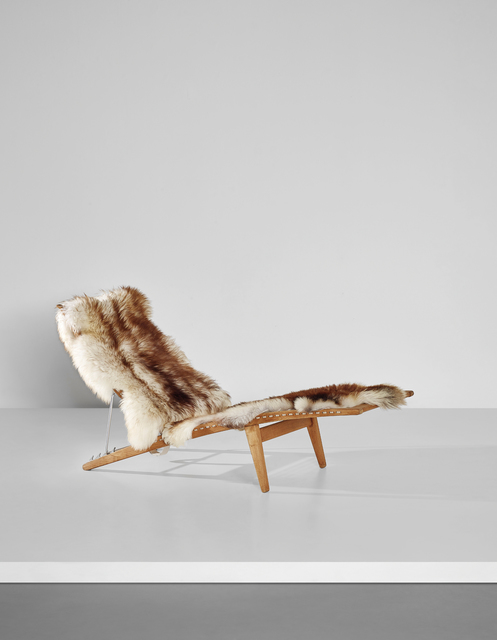 Hans Jørgensen Wegner, 'Early adjustable lounge chair, model no. JH524', ca. 1959, Phillips