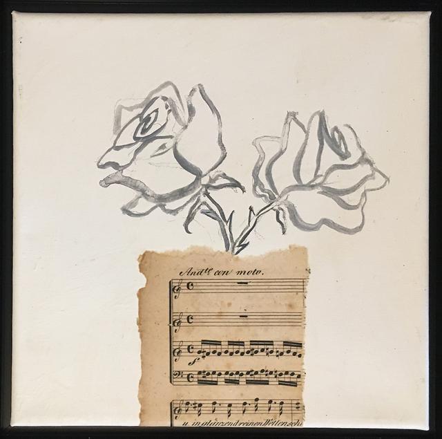 , 'Flowers in Vase,' 2017, Pleiades Gallery