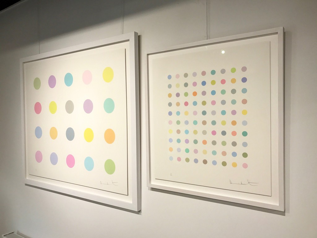 Damien Hirst - The art of. Kunsthuis Amsterdam. Oct 2016