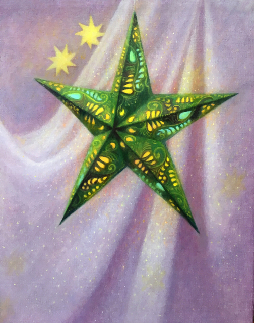, 'Eastern Star,' 2018, The Guild of Boston Artists