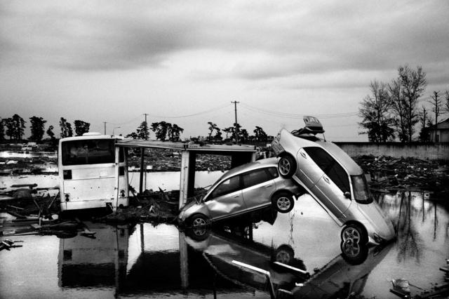, 'Tsunami in Japan,' 2011, Raffaella De Chirico