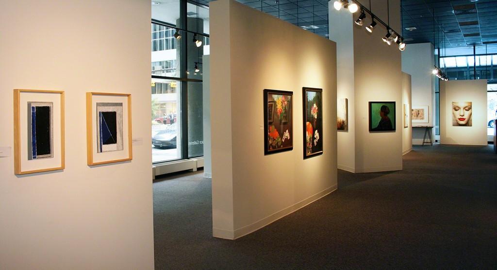 Artists pictured here (right to left): David SORENSEN, Walter BACHINSKI, Jennifer HORNYAK