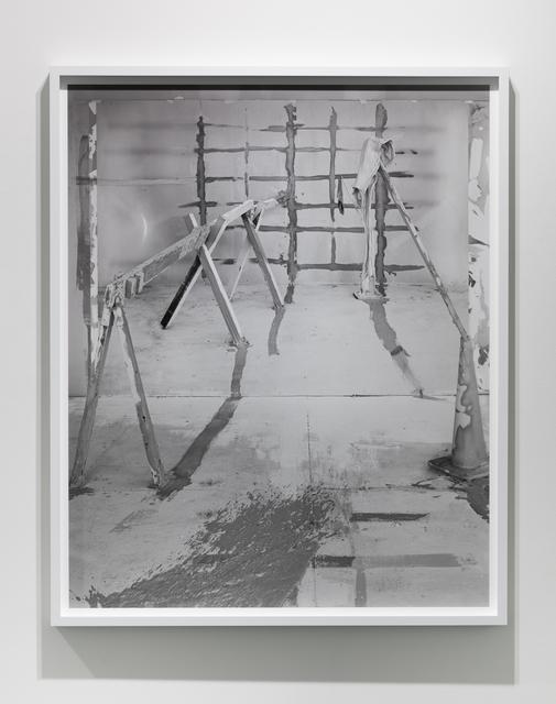 , 'Barricade No. 1,' 2017, Klowden Mann