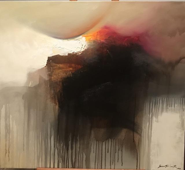 , 'Landscape of the Sun Gods II,' 2012, Bustamante NYC Art Gallery