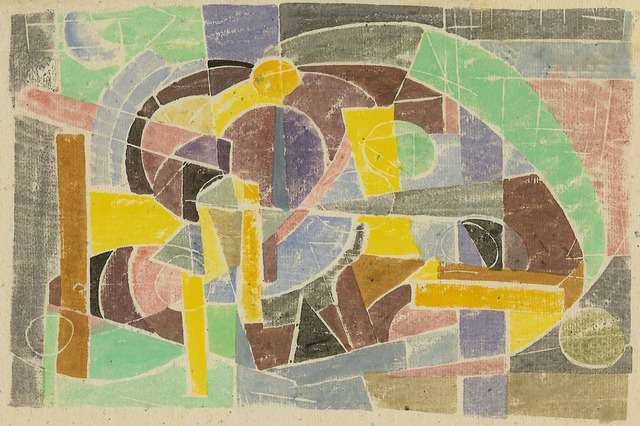 , 'Composition,' ca. 1949, Dolan/Maxwell