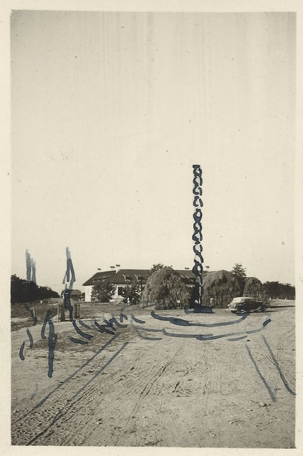 , 'Ink schetch for The Endless Column,' 1937, Art Encounters Foundation