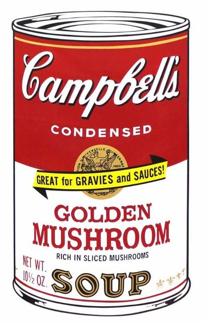 Andy Warhol, 'Golden Mushroom Soup, from Campbell's Soup II', 1969, Print, Screen print on paper, DANE FINE ART