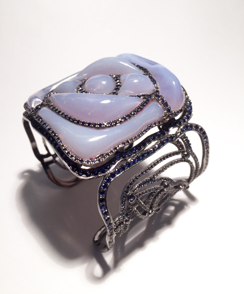 , 'Square Rose Bracelet, Pale Blue,' , Jason Jacques Gallery