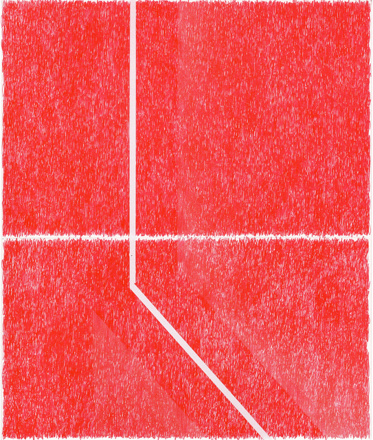 , 'Spray Red 2 ,' 2019, Haw Contemporary