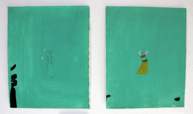 , 'The Dancers #8 and #9,' 2003, Al Ma'mal Foundation for Contemporary Art