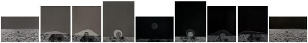 , 'Confine #278-279-280-281-282-283-284-285-286,' 2017, Galerie Thierry Bigaignon