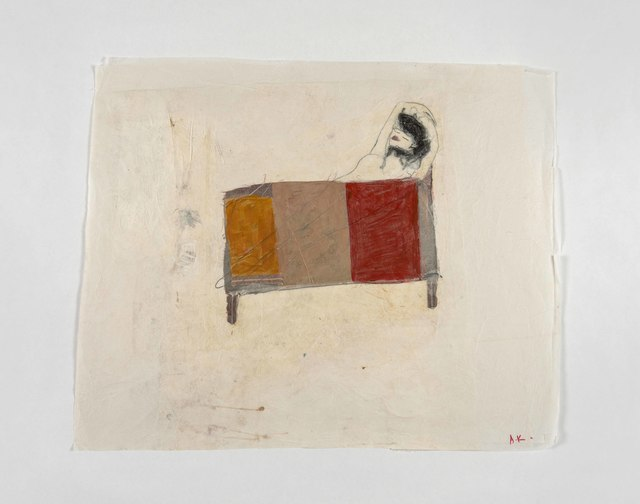 , 'Frau im Bett,' 2017, Zilberman Gallery