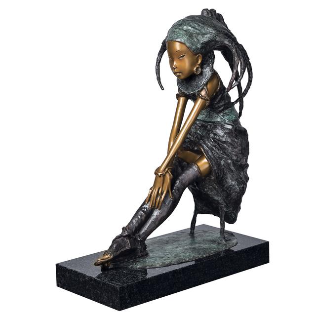 Andrey Ostashov, 'Melancholy', 2013, Sculpture, Bronze, granite,  OSTASHOV sculpture