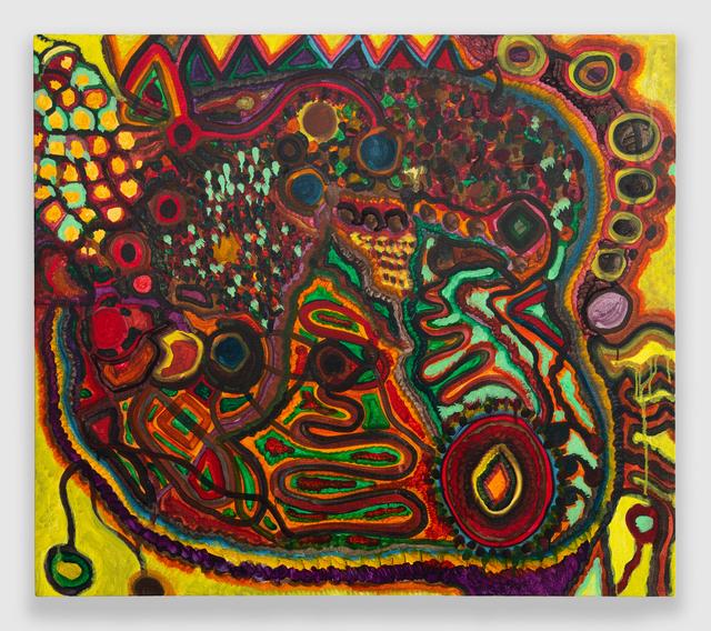 Rob Ventura, 'Pathogen I (Mycobacterium leprae)', 2020, Painting, Oil on Linen, PROTO Gallery