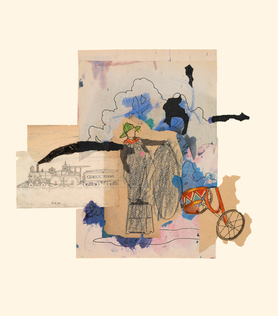 , 'Train 10/16/15,' 2015, Miller Yezerski Gallery