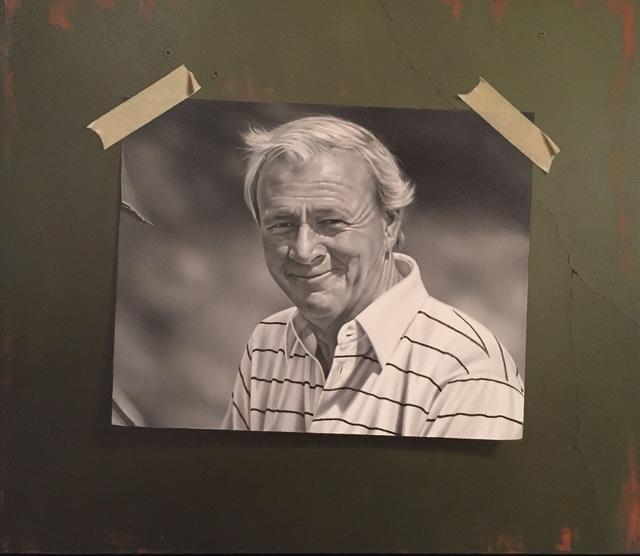 Otto Duecker, 'Arnie (Arnold Palmer)', 2015, M.A. Doran Gallery