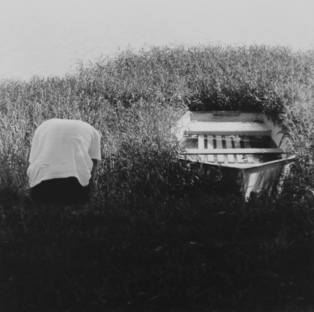 Ralph Eugene Meatyard, 'Untitled (Figure and Boat)', 1964/1974, ClampArt