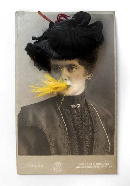 , 'Woman with a Black Hat Eating a Canary Nº1,' 1998, Laurence Miller Gallery