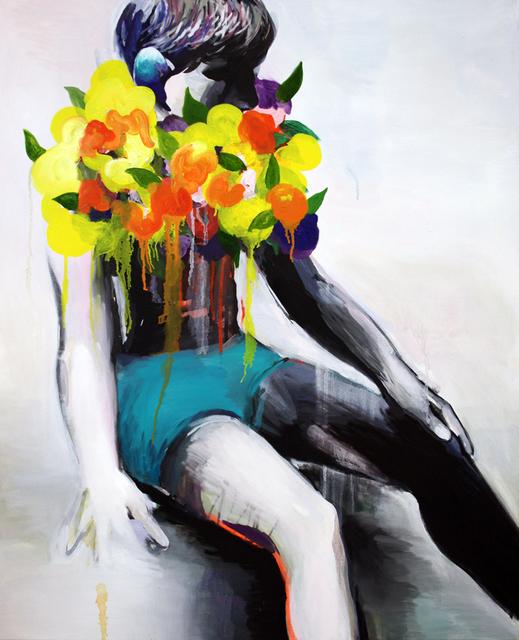 , 'Boy with Yellow Flowers,' 2016, Yiri Arts