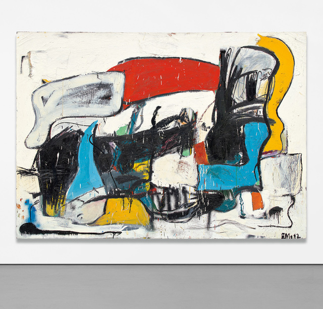 Eddie Martinez, 'Entitlement', 2012, Painting, Acrylic, oil and spray paint on canvas, Phillips