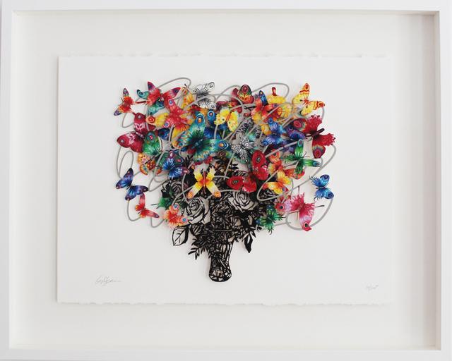 , 'Synergy - Paper Cut,' 2013, Galerie Duret
