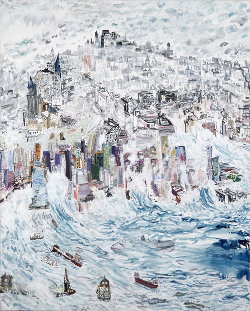 , 'Oceans Rising,' 2016, Bookstein Projects