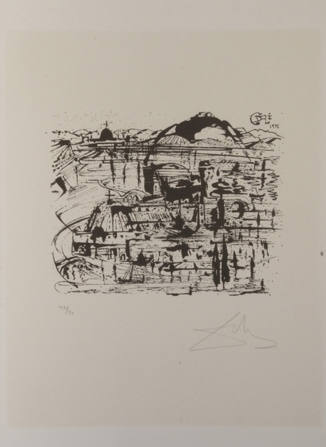 Salvador Dalí, 'Babauo (Middle)', 1978, Print, Etching, Fine Art Acquisitions Dali