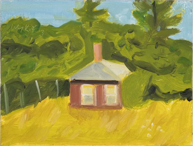 , 'Red House,' 2015, Monica De Cardenas