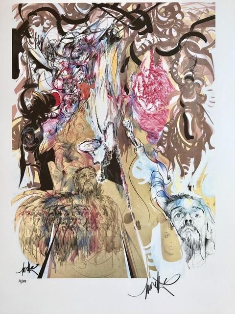 , 'La Mort (Brel),' ca. 1980, ByNewArt