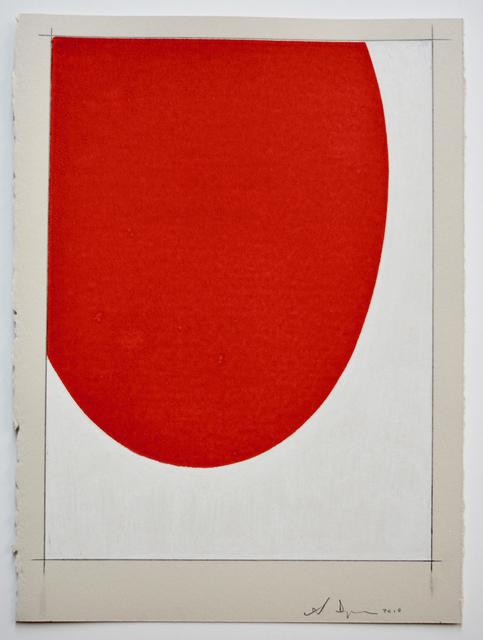 Scott Ingram, 'Saarinen Table (red/white)', 2010, HATHAWAY | Contemporary Gallery