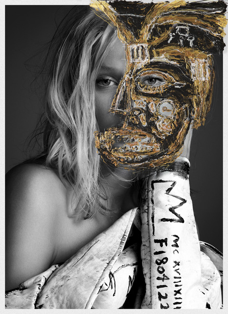 , 'I will make you a Star, Gold edition,. Toni Garrn,' 2015, The Art:Design Project