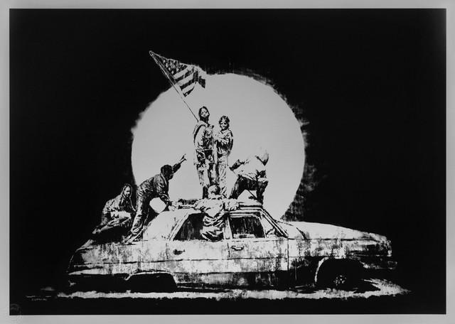 Banksy, 'Flag', 2006, Prescription Art