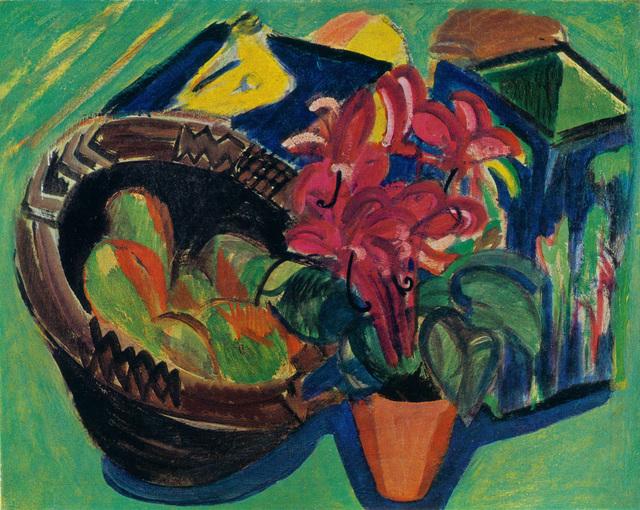 , 'Stillleben mit Früchtekorb,' 1918-1919, Henze + Ketterer