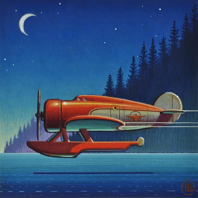 , 'Seaplane,' 2020, Sue Greenwood Fine Art