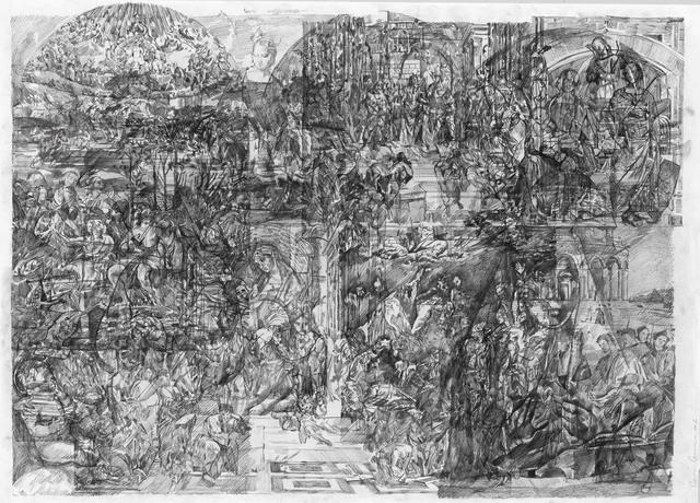 , 'Le grand alpha de la peinture 7,' 2016, Galeria Plan B